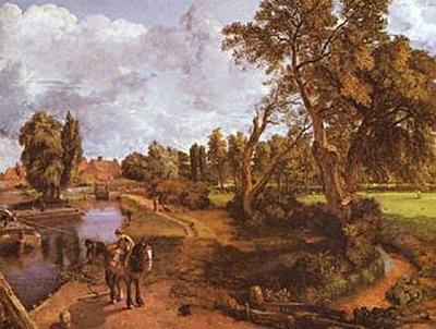 John Constable - Das Haus des Admirals in Hampstead - 200 Teile (Puzzle)
