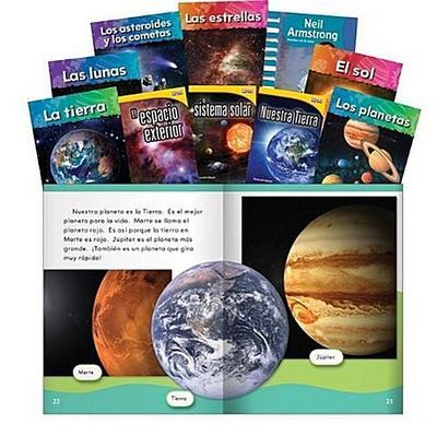 Space Exploration Set Spanish