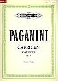 24 Capricen für Violine solo op. 1