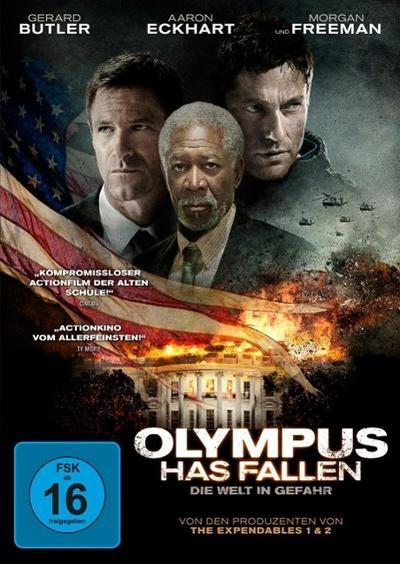 Olympus Has Fallen - Die Welt in Gefahr, 1 DVD