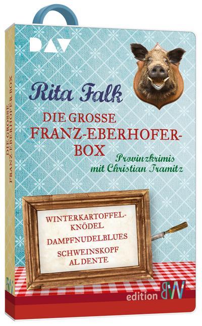 Die große Franz-Eberhofer-Box. Hörbücher auf USB-Stick