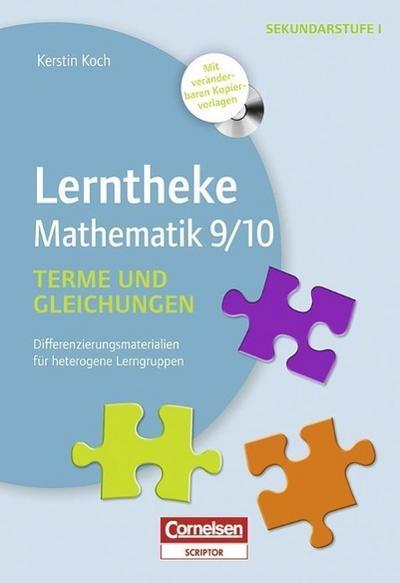 Lerntheke Mathe: Terme und Gleichungen 9/10