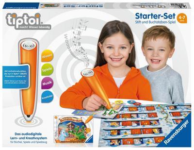 tiptoi® Starter-Set: Stift und Buchstaben-Spiel (Spiel-Zubehör)
