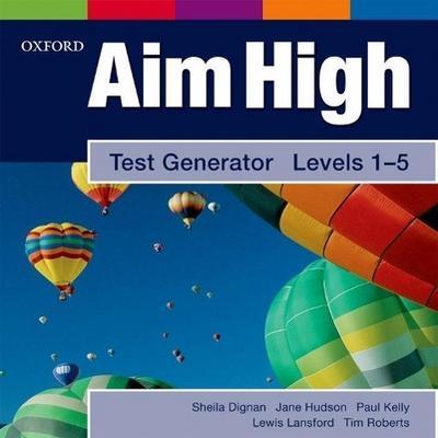 Aim High Levels 1-5: Test Generator