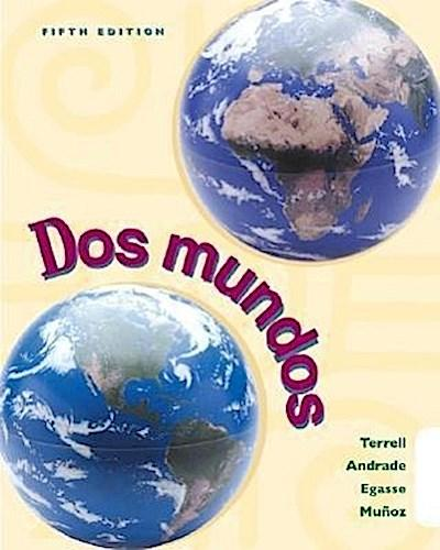 DOS Mundos (Student Edition W/ Listening Comprehension Cassette)