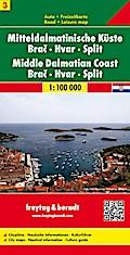 Mitteldalmatinische Küste 1 : 100 000 Blatt 3