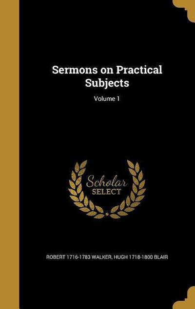 SERMONS ON PRAC SUBJECTS V01