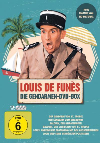 Louis de Funes - Gendarmen DVD Box