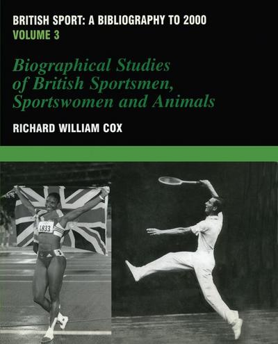 British Sport - a Bibliography to 2000