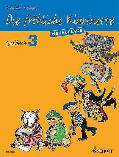 Die fröhliche Klarinette. Bd.3