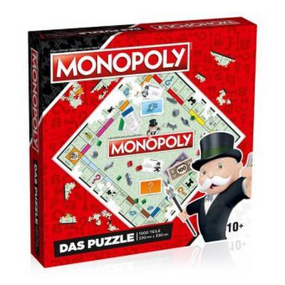 Puzzle Monopoly No. 9 (original Monopoly Brett), 1000 Teile