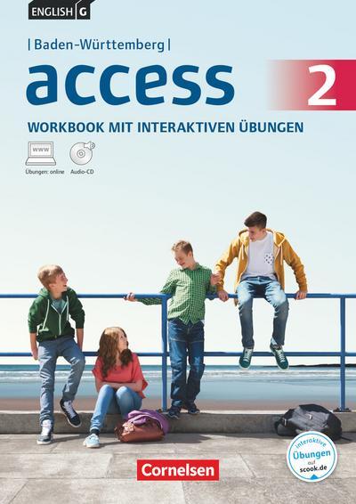English G Access Band 2: 6. Schuljahr. Baden-Württemberg. Workbook mit interaktiven Übungen auf scook.de