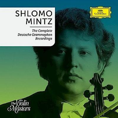 Shlomo Mintz - The Complete Deutsche Grammophon Recordings, 15 Audio-CDs (Limited Edition)