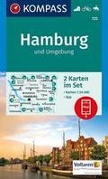 Hamburg und Umgebung 1 : 50 000