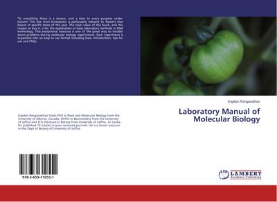 Laboratory Manual of Molecular Biology
