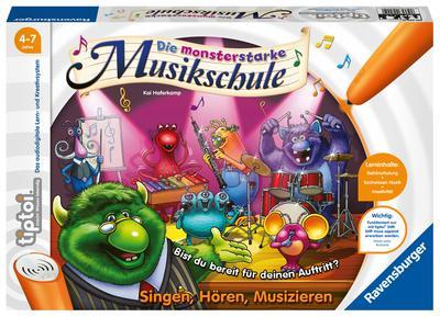 tiptoi® Die monsterstarke Musikschule