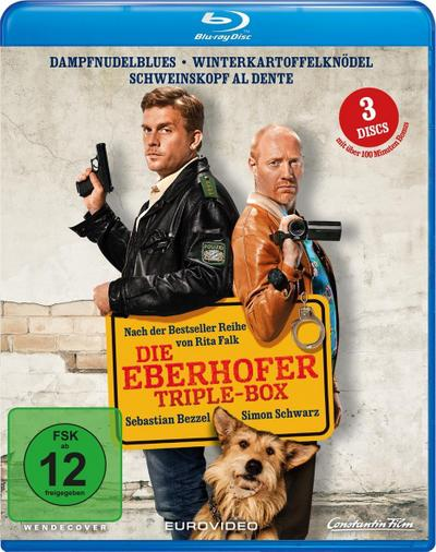 Ein Eberhofer Triple Box, 3 Blu-ray