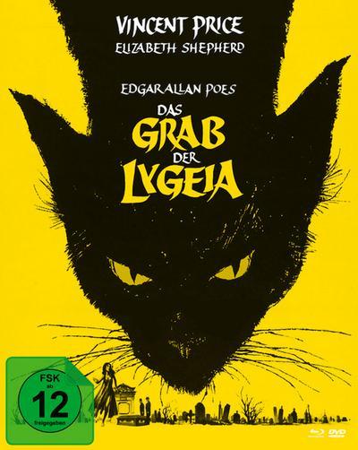 Das Grab der Lygeia (Mediabook, Blu-ray + DVD) (Version A)