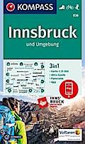 Innsbruck und Umgebung 1:35 000