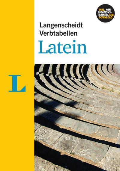 Langenscheidt Verbtabellen Latein - Buch mit Konjugationstrainer zum Download
