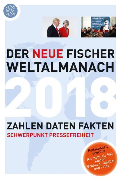 Der neue Fischer Weltalmanach 2018: Zahlen Daten Fakten