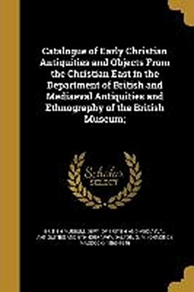 CATALOGUE OF EARLY CHRISTIAN A