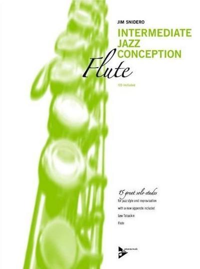 Intermediate Jazz Conception, Flute, w. Audio-CD