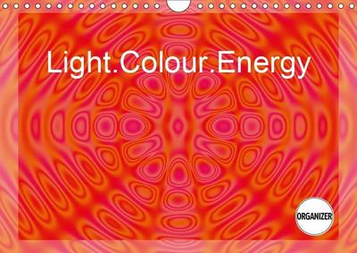 Light.Colour.Energy (Wall Calendar 2019 DIN A4 Landscape)