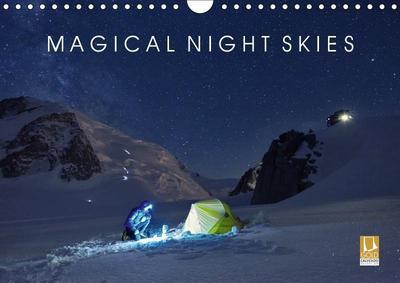 Magical Night Skies (Wall Calendar 2019 DIN A4 Landscape)