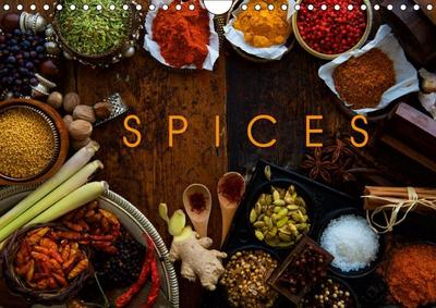 SPICES (Wall Calendar 2019 DIN A4 Landscape)