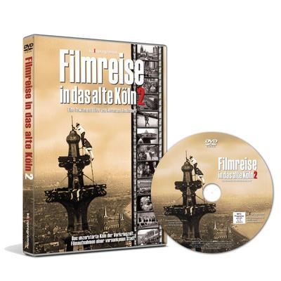 Filmreise in das alte Köln. Tl.2, 1 DVD