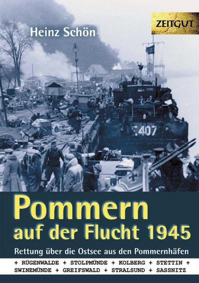 Pommern auf der Flucht. 1945