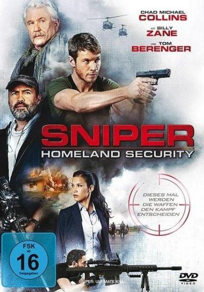 Sniper: Homeland Security, 1 DVD
