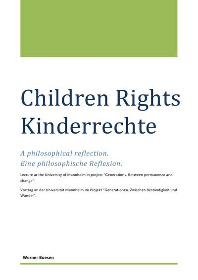 Children Rights - Kinderrechte