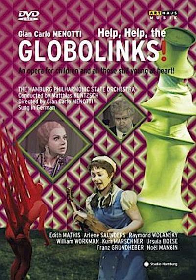 Help, Help, the Globolinks!, 1 DVD