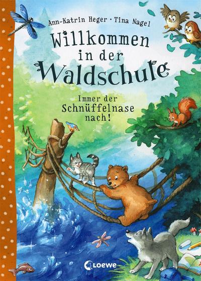 Willkommen in der Waldschule - Immer der Schnüffelnase nach!