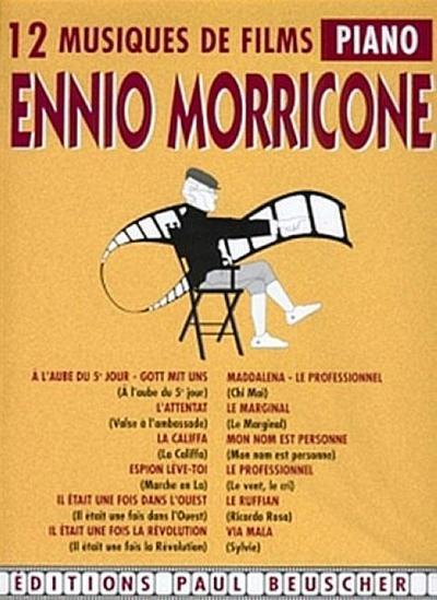 12 musiques de films pour piano