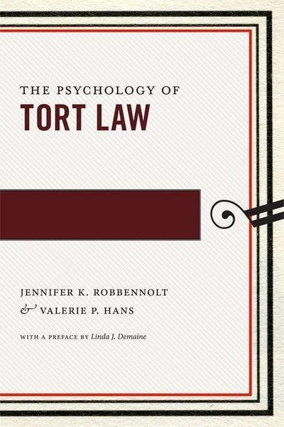 Psychology of Tort Law