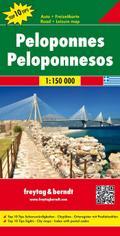 Peloponnes 1:150.000