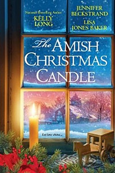 Amish Christmas Candle