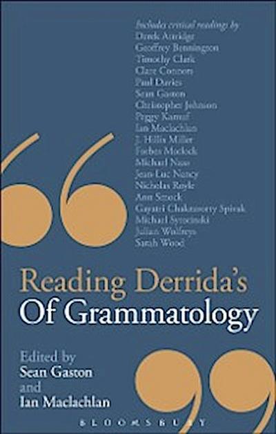 Reading Derrida's Of Grammatology