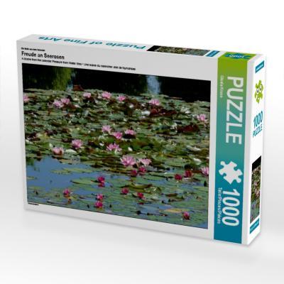 Ein Motiv aus dem Kalender Freude an Seerosen (Puzzle)