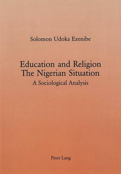 Education and Religion: The Nigerian Situation