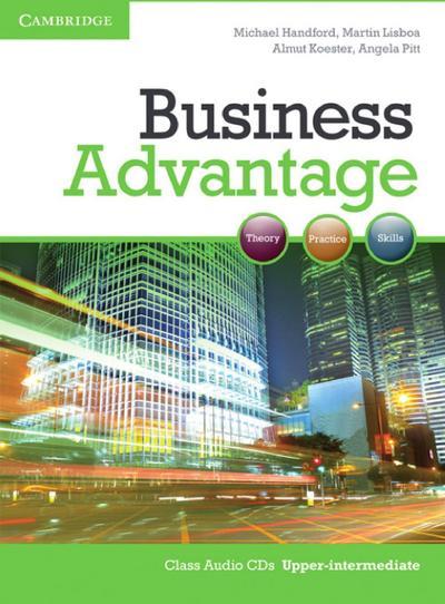 Business Advantage B2. Upper-Intermediate. Audio-CD