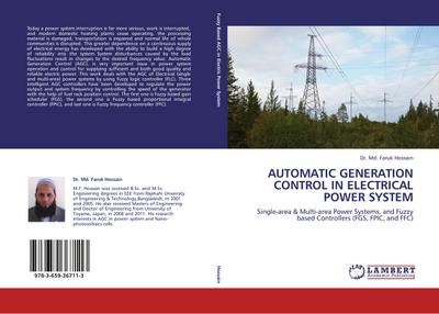 AUTOMATIC GENERATION CONTROL IN ELECTRICAL POWER SYSTEM