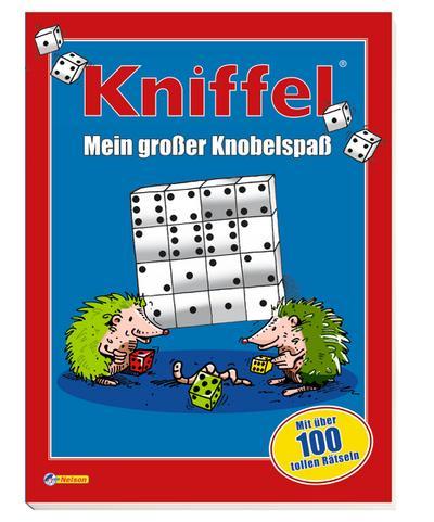 Kniffel: Mein großer Knobelspaß: Mit über 100 tollen Rätseln