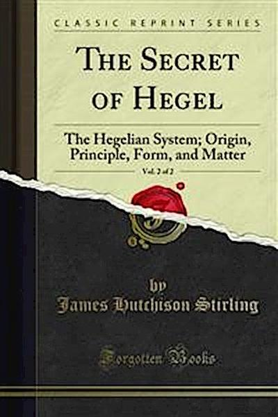 The Secret of Hegel
