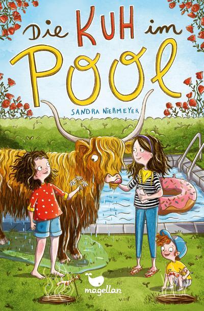 Die Kuh im Pool