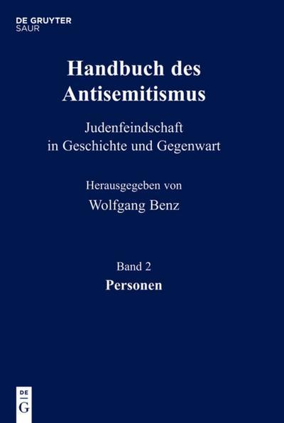 Handbuch des Antisemitismus 02. Personen