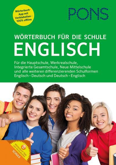 PONS Wörterbuch für die Schule Englisch: Englisch-Deutsch / Deutsch-Englisch